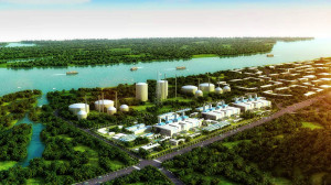 Gas energy supply project of Hengqin island