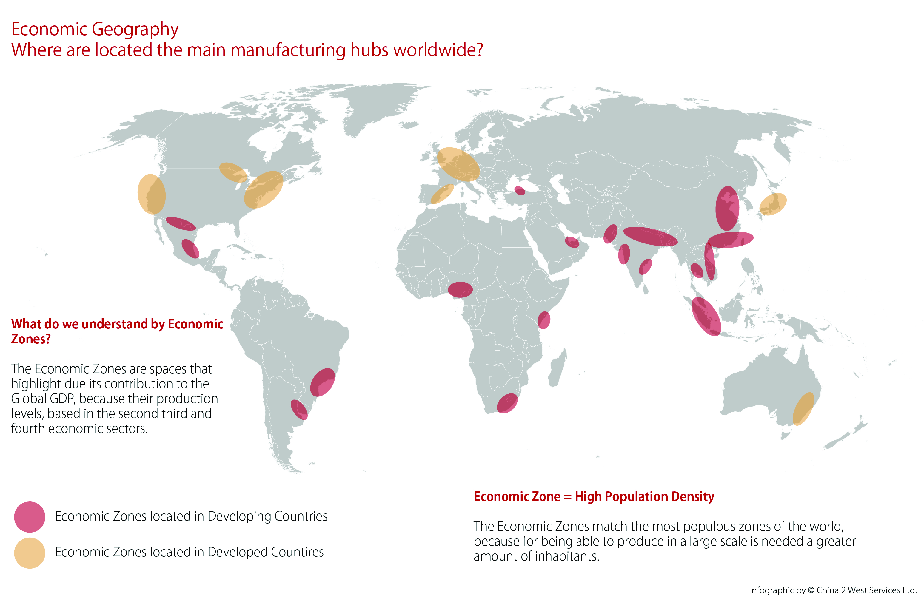 economic geography map