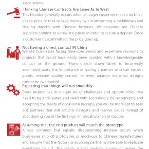 C2W Infographic – 7 Critical Mistakes to Avoid When Sourcing in China