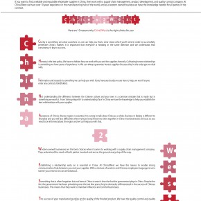 C2W Infographic – The Reasons Why You Should Work With a Supply Chain Management Company