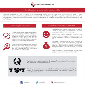 C2W Infographic – The Right Strategy for negotiations in China