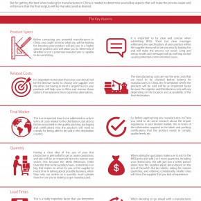 C2W Infographic – What to check before looking for manufacturers in China