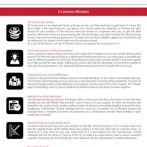 C2W Infographic – Avoid Manufacturing Headaches in China