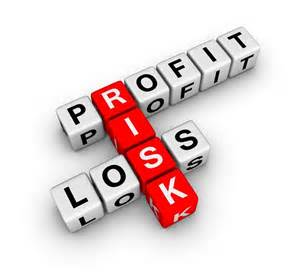 Risks are found in-between profit and loss