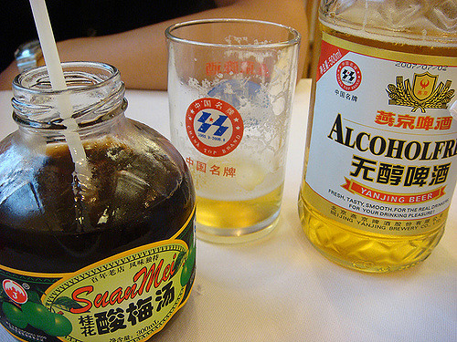 drinking in china