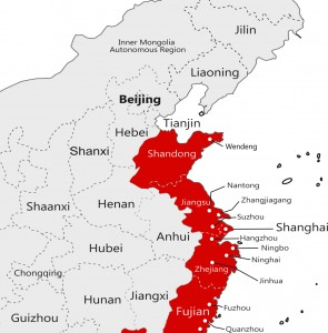 China Manufacturing Cities