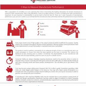 C2W Infographic – 5 Ways to measure manufacturer performance