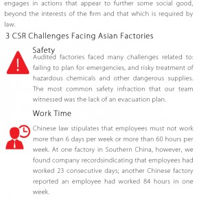 C2W Infographic – Top Three CSR Challenges Facing Asian Factories