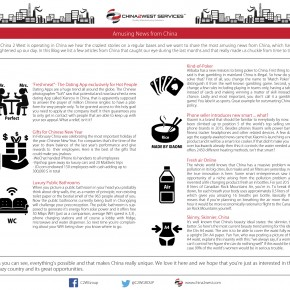 C2W Infographic – Amusing news from China