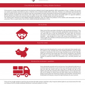 C2W Infographic – China Wholesale Distributors-Finding a Reliable Distributor