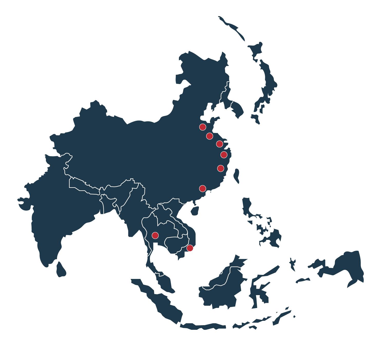 C2W SE Asia Map