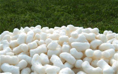 compostable pellets made from corn starch instead of plastic is a great way to start going green in business